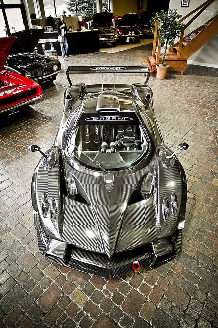 Pagani Zonda R Race car. Pretty awesome