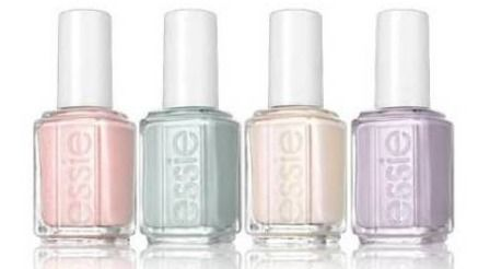 Essie's 2012 Bridal Nail Polish Collection -- LOVE these colors for spring!
