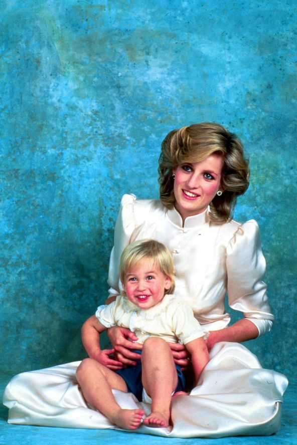 lovelydianaprincessofwales:  Diana and William