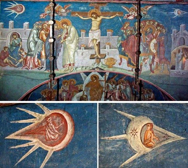 Flash sul mondo ... di tutto, di più: Quando gli UFO invasero l'arte rinascimentale