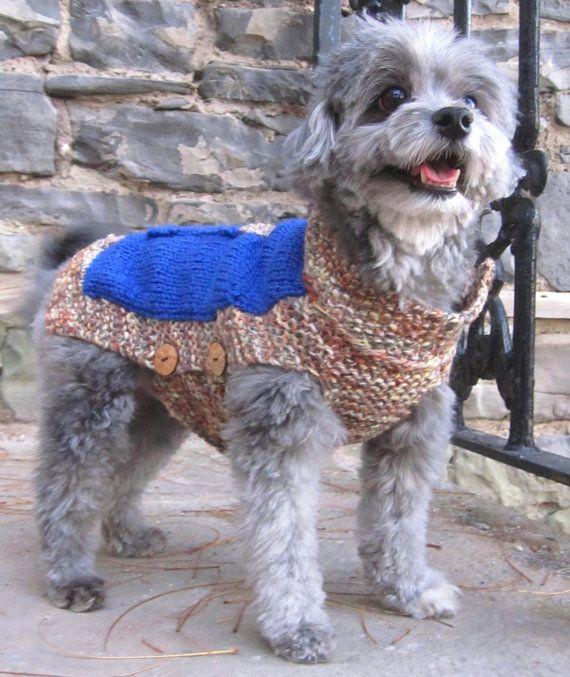 Dog Sweater-hand Knit Dog Sweater/french Bulldog Sweater
