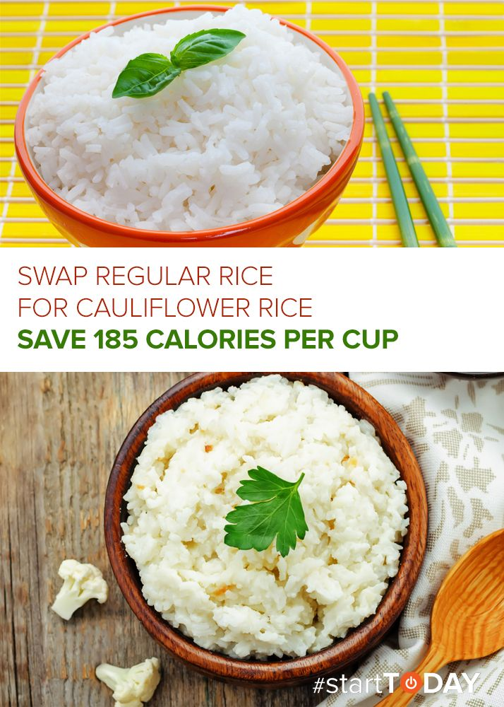 lose weight by eating white rice