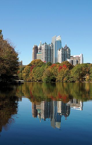 One of the most perfectly beautiful places in AMERICA- Piedmont Park, Atlanta, GA