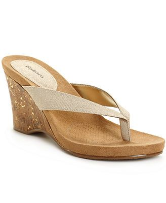 Style&co. Chicklet Wedge Sandals-the best cheap wedge sandal i have found