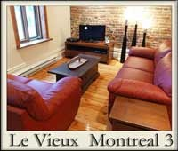 Elegant short term condo in Old Montreal. 2 bedrooms. Best of old and new.