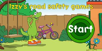 Click to open Izzy's road safety games