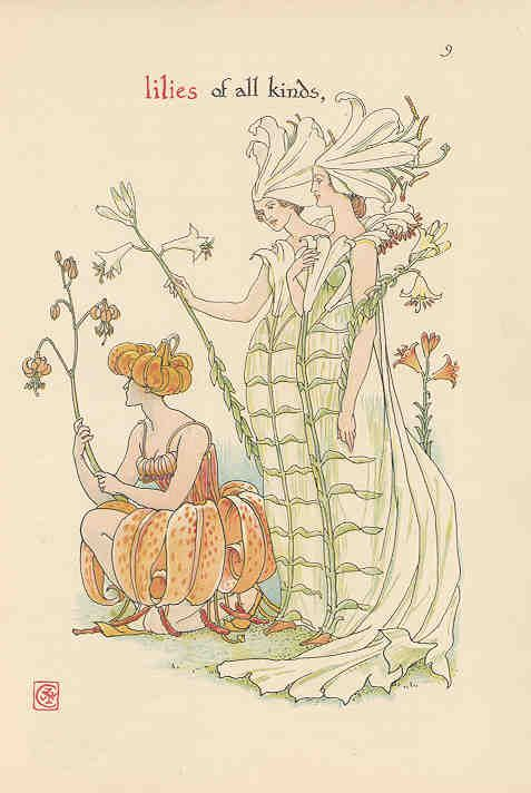 Flowers from Shakespeare's Garden  Walter Crane
