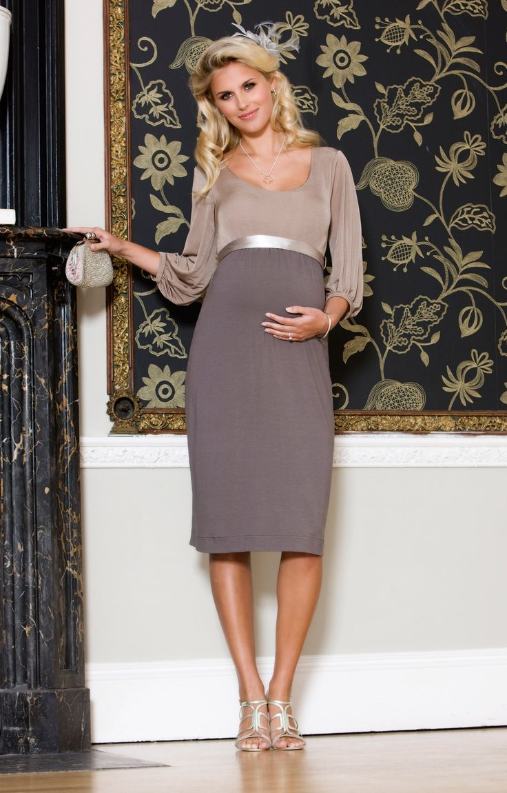 Cute Maternity Dress For Wedding. Seraphine Black Pleated Maternity ...