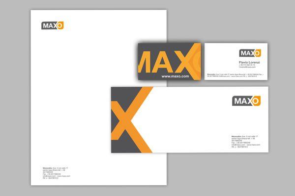 MAXO by Omm Agency , via Behance