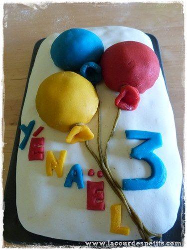 Un anniversaire sur le thème des ballons pour ses 3 ans |La cour des petits
