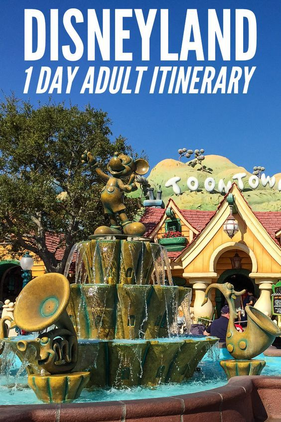 A one day itinerary for Disneyland and California Adventure for adults. Includes tips for avoiding crowds and queues. Click to read the post on Never Ending Voyage.