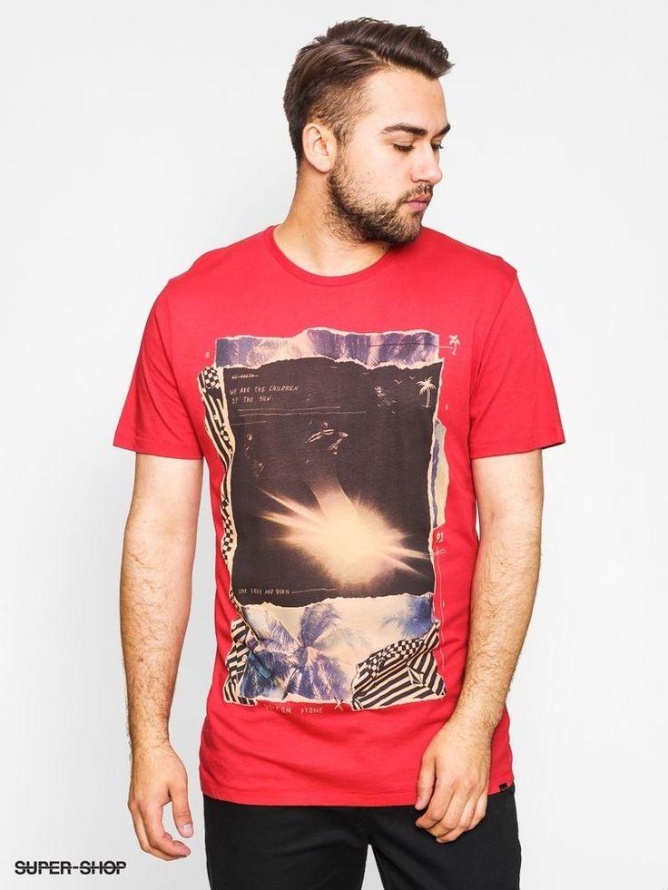 VOLCOM Sun Children Tee T-shirt Red Small-Medium-Large Short Sleveve  #Volcom #GraphicTee