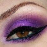 16 Purple Makeup for Brown Eyes;