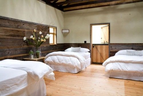 Charming Barn House | ShelternessGuest Room, Bedrooms Design, Whidbey Island, Children'S Renovation, Barns Converse, Modern House, Bunk Room, Barns House, Old Barns