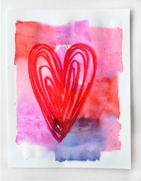 valentine art grade 3