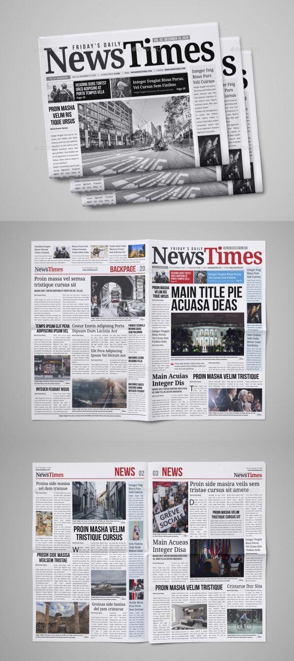 30 Professional Indesign Newspaper Templates Newspaper Template Design Indesign Newspaper Template Newspaper Design