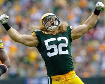 Clay Matthews Picture at Green Bay Packers Photo Store