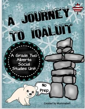 NO PREP required.This is the 2nd unit in a series of units covering 3 communities that make Canada unique.This packet includes everything you need in order to teach an in-depth study about Iqaluit, Nunavut. The unit is was designed to be an inquiry based unit.