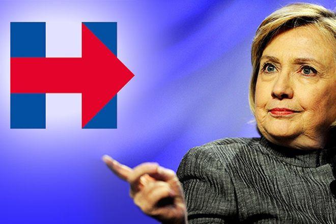 Designers redesenham logo da campanha de Hillary Clinton – veja se ficou melhor