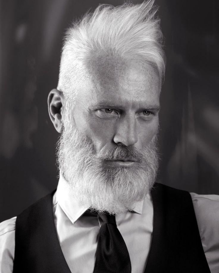 Image result for older men with white hair long beard