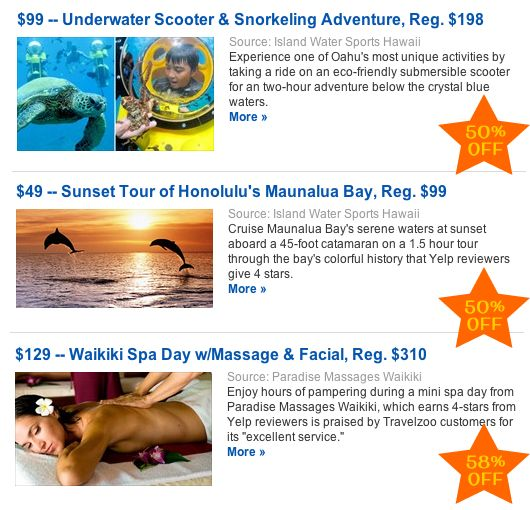 Big announcement! Travelzoo partners with Go Visit Hawaii to provide Hawaii deals