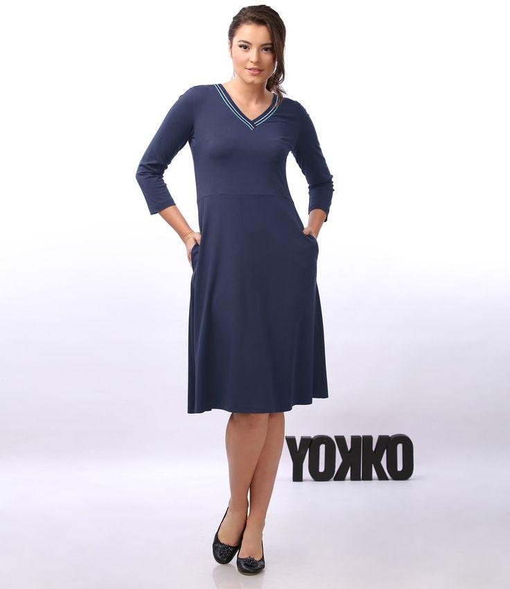 SMILE dress YOKKO   fall16 #dress #casual #nice #yokko #women #daytime