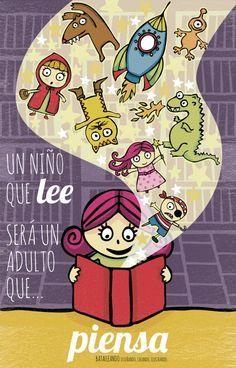 La importancia de la lectura libros en la educación infantil, por Gaudir.