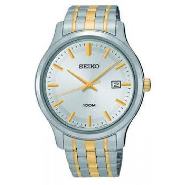 FREE SHIPPING #amazing #beautiful #accessories #timeless #time #Seiko #watches #lifestyle #design #fashion #mensfashion #womensfashion Buy now https://feeldiamonds.com/swiss-luxury-watches-for-men-women/seiko-watches-offers-online/seiko-sur147p1-analogue-two-tone-stainless-steel-strap-mens-watch