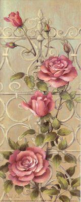 Benim gövde Oymacılık: güller