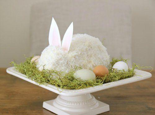 Пасхальный торт «Кролик». Мастер-класс | Домохозяйка