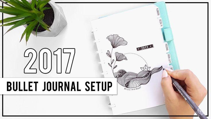 Bullet Journal Setup   PLAN WITH ME   Jul - Aug 2017