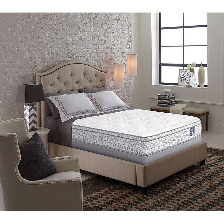 Serta Perfect Sleeper Bristol Way Ii Supreme Gel Eurotop Split Queen Size Mattress Set