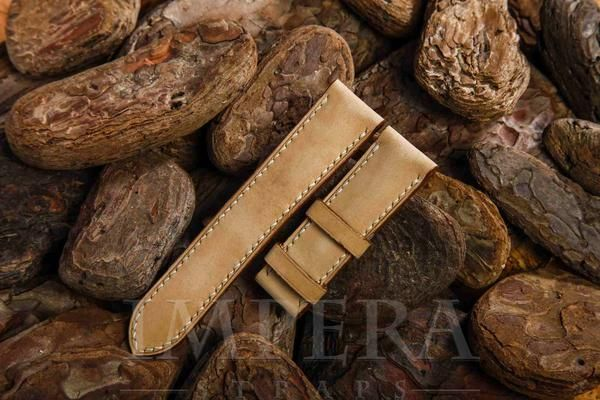 Nubuck Natural Leather Watch Strap,https://www.imperastraps.com