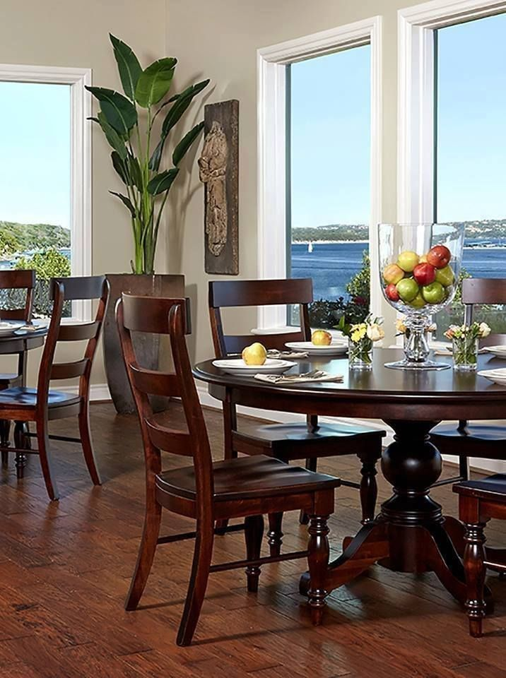 236 Best Gathering Tables Images On Pinterest  Houston Tx Dining Impressive Real Wood Dining Room Sets 2018