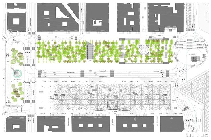 Dominique Perrault Architecture, Peppe Maisto · Piazza Garibaldi Station. Napoli, Italy · Divisare