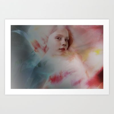 Amilia Dreaming Art Print by Ida Oppen Photography - $18.72