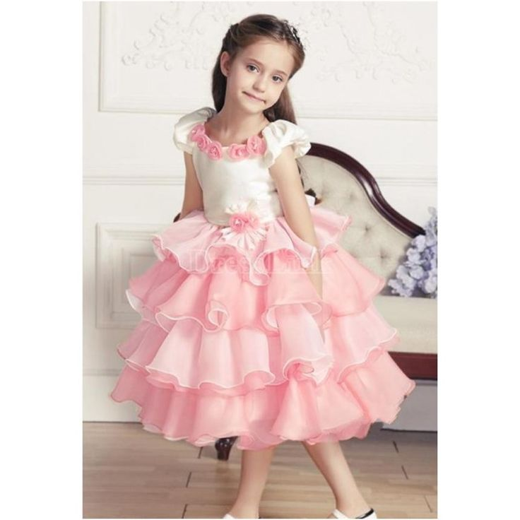 Baby Girl Frock Buy Pink Lace Party Wear Dress For Girls