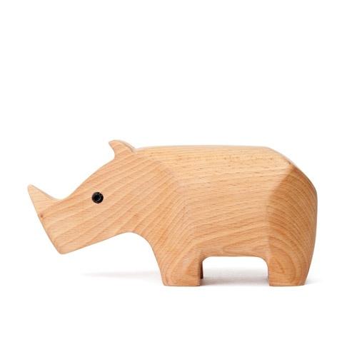 Animal Box Rhino Förvaringsskrin | Areaware | Länna Möbler | Handla online