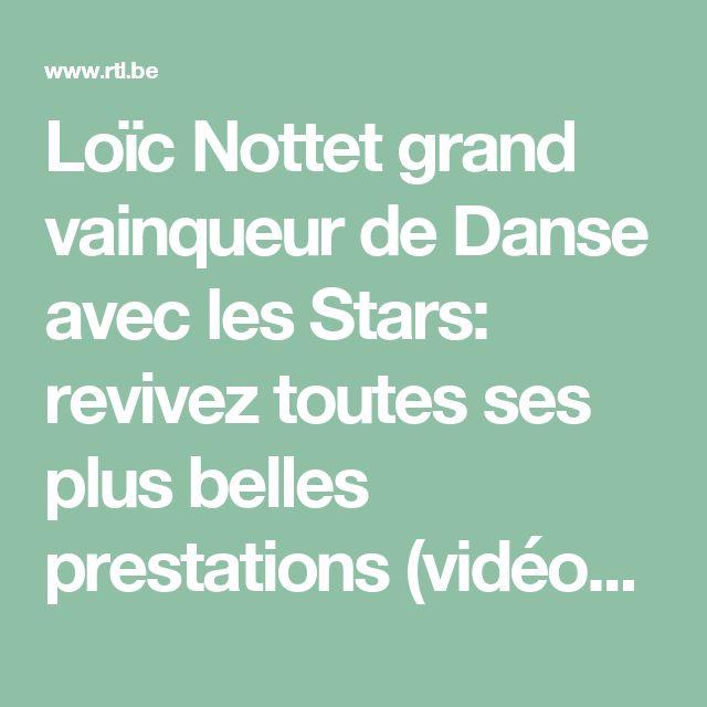 Loïc Nottet grand vainqueur de Danse avec les Stars: revivez toutes ses plus belles prestations (vidéos) - RTL People