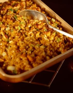 Leftover Turkey and Stuffing Casserole - review for this are excellent!  Great way to use up the extra turkey and stuffing in my freezer!