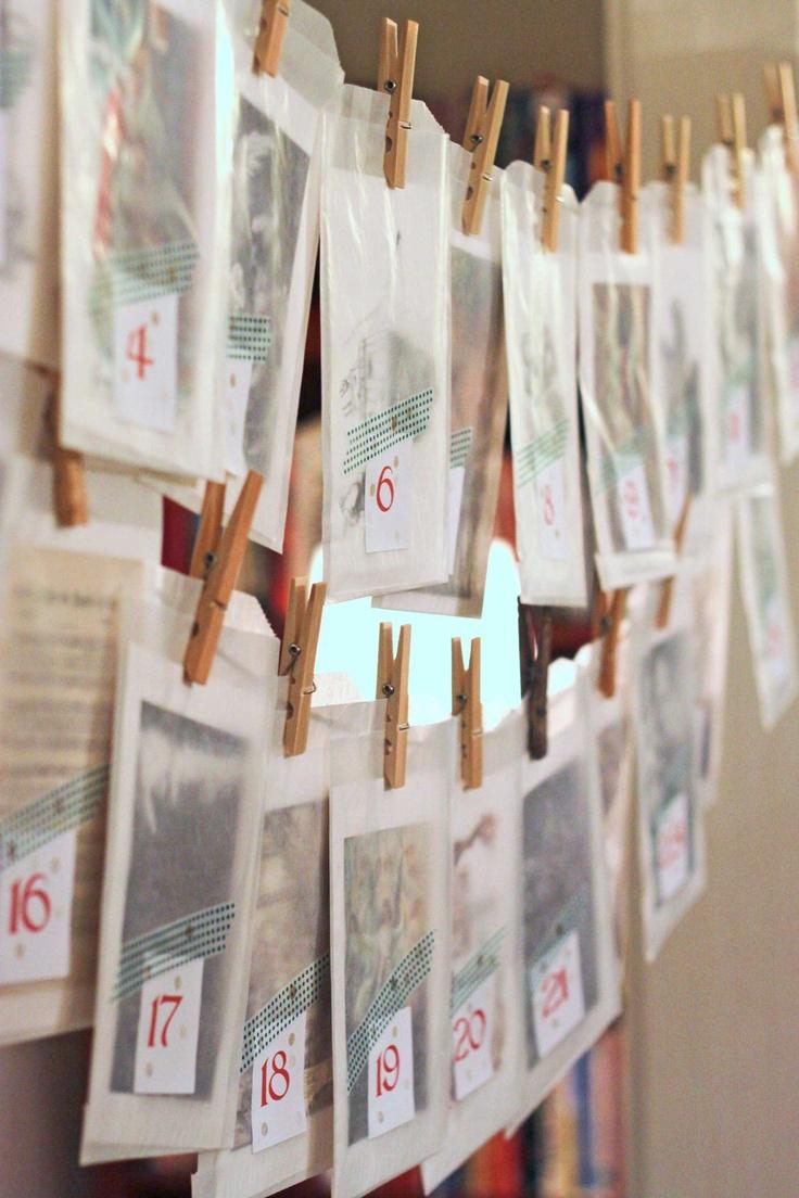 Religious Advent Calendar Ideas : Days of service advent calendar nourishing joy