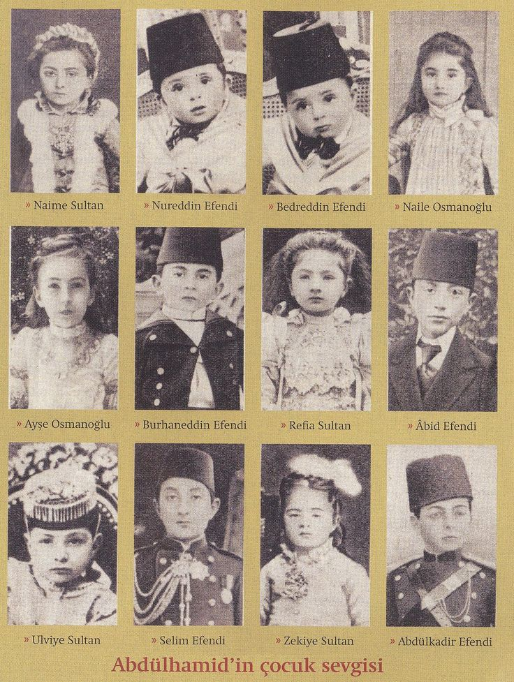 CHILDREN OF SULTAN ABDULHAMID II | par OTTOMAN IMPERIAL ARCHIVES