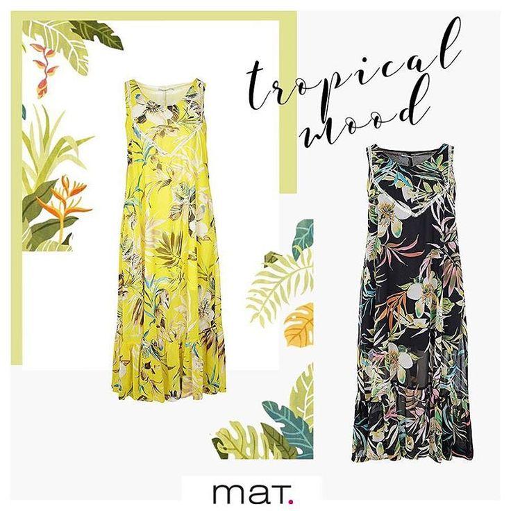 Καλοκαίρι χωρίς tropical μοτίβα δεν γίνεται! 🍍🍹⛱ 🌴 Ο τέλειος τρόπος να τα φορέσεις είναι το εντυπωσιακό & θηλυκό μάξι #matfashion φόρεμα! Επίλεξε το χρώμα σου! Ανακάλυψέ το! [code: 671.7395] #tropicana #instafashion #trends #plussizefashion #ootd #dresses #curvyfashion #psblogger