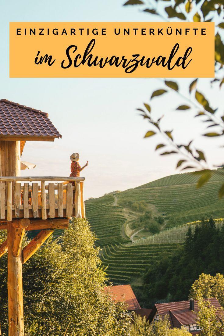 Außergewöhnliche Unterkünfte an einzigartigen Orten im Schwarzwald   – Deutschland Reisetipps