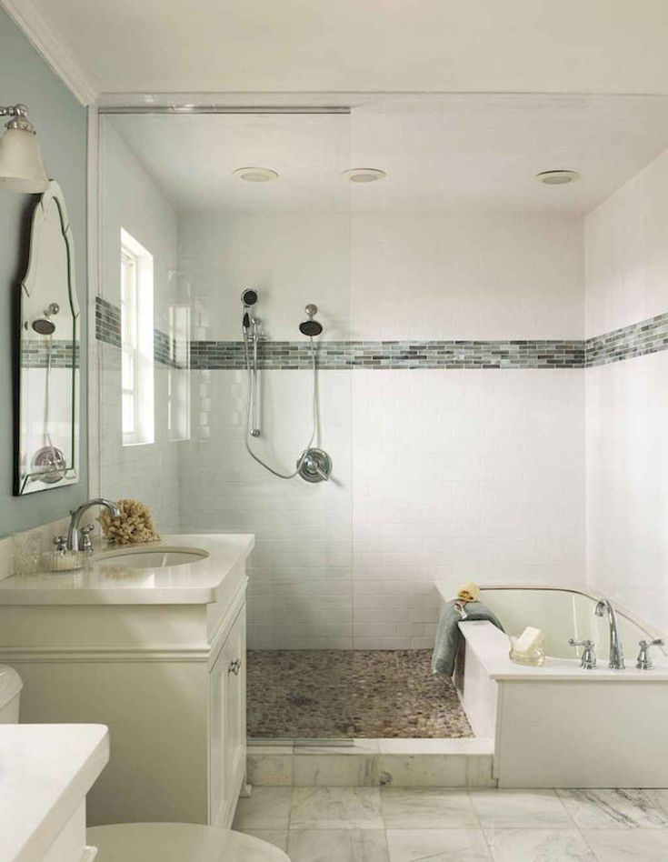 Cool small bathroom shower remodel ideas (26