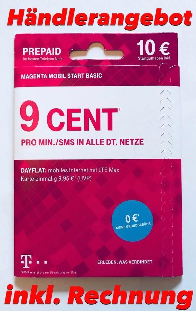 d1 prepaid karte 0160 178 178 8 ] NEU Telekom Magenta Startpaket Handynummer Nummer