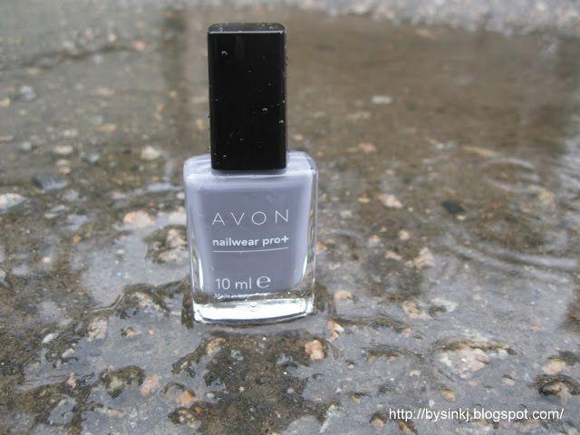 ©Бусинка: Лак для ногтей Avon  Эксперт цвета в оттенке Невин...