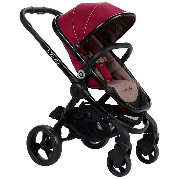Buy iCandy Peach Pushchair with Black Chassis