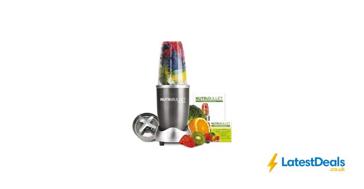 NUTRIBULLET Starter Kit - Graphite Free Delivery, £49.99 at Currys PC World