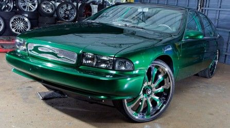 What do you think of the mods on this 1996 Impala SS?